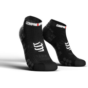 Compressport Pro Racing V3.0 Run Low Chaussettes, black